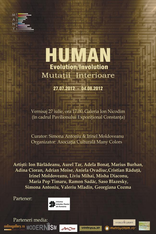 """Human Evolution / Involution – Mutații interioare"" @ Galeria Ion Nicodim, Constanţa"