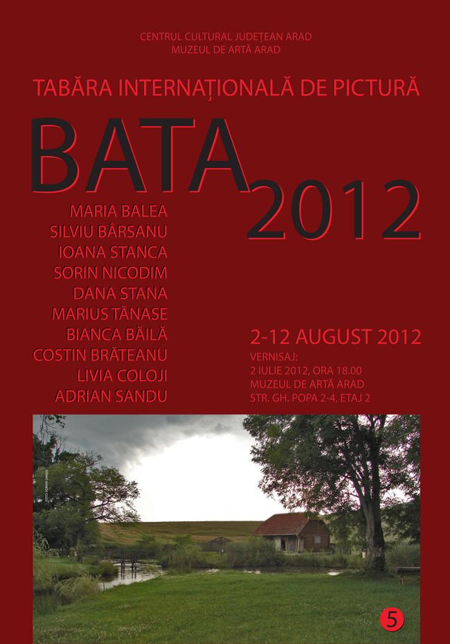 Tabăra internațională de pictură de la Bata 2012