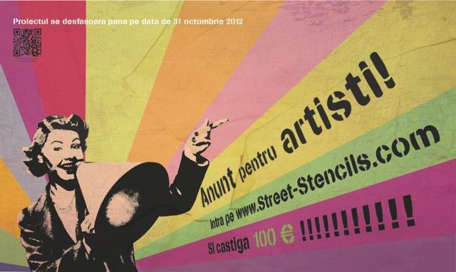 Concurs pentru artiști Stencils from the Block