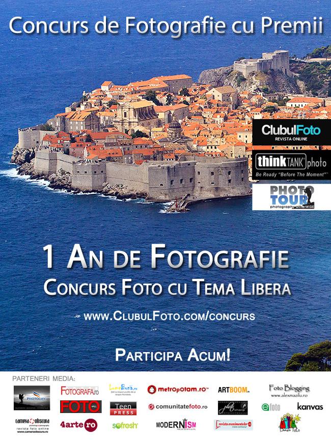 Concurs de fotografie aniversar: 1 An de Fotografie