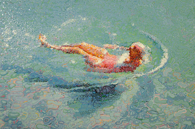 Pooled Oil Paintings by Matthew Davis