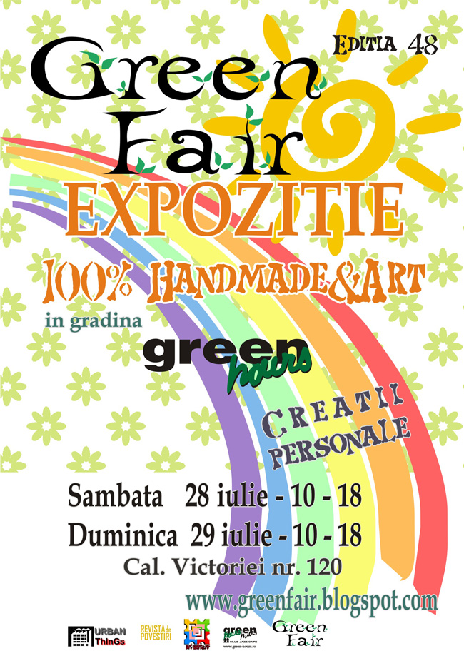 GreenFair, 100% Handmade & Art @ Green Hours