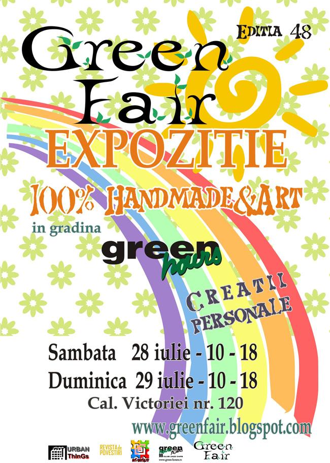 GreenFair, 100% Handmade & Art @ Green Hours