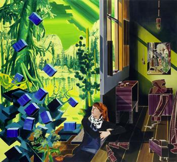 Painting of Uncertain Places at Frankfurter Kunstverein