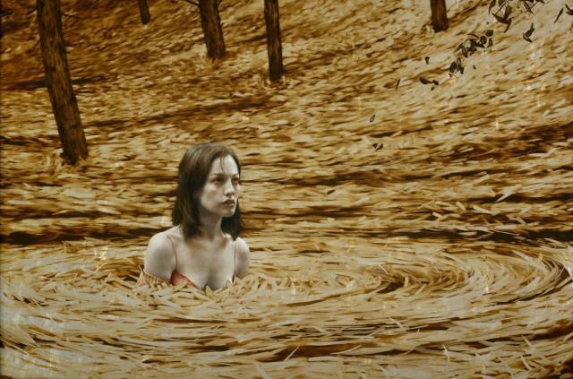 Leaf Paintings by Brad Kunkle