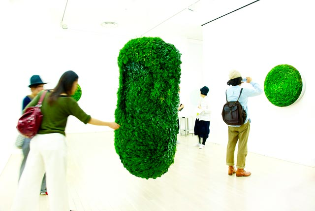 Collapsible Leaves: Plant Sculptures by Azuma Makoto