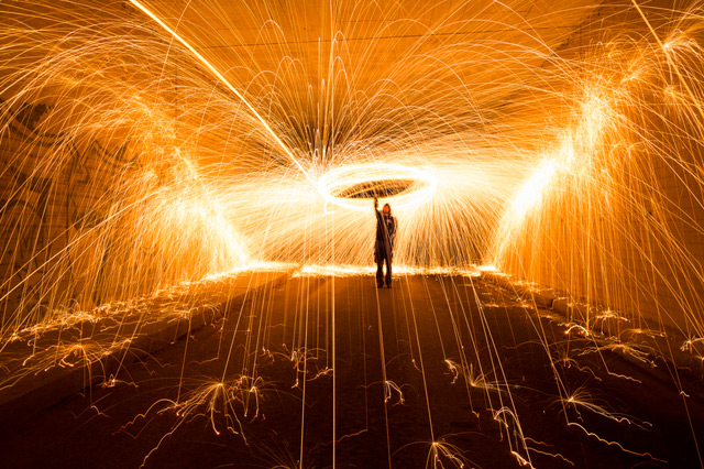 Light Painting by Simon Berger