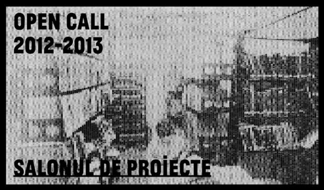 Salonul de proiecte: OPEN CALL 2012-2013