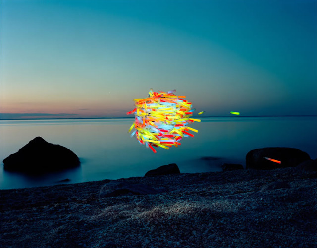Flying Swarms of Everyday Objects by Thomas Jackson
