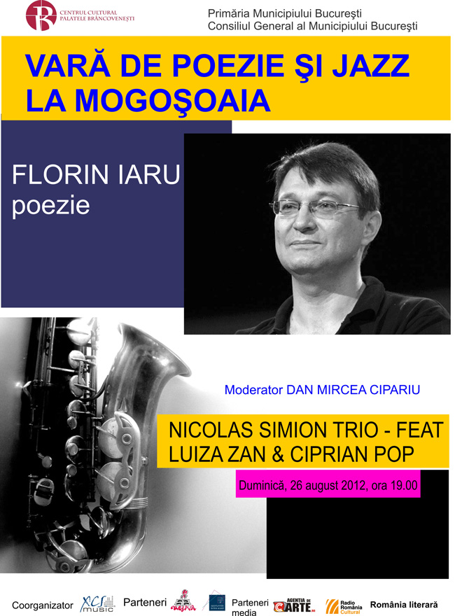 Vară de Poezie și Jazz la Mogoșoaia