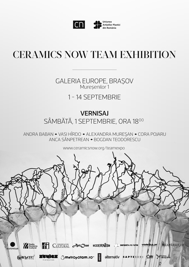 Ceramics Now Team Exhibition @ Galeria Europe, Braşov
