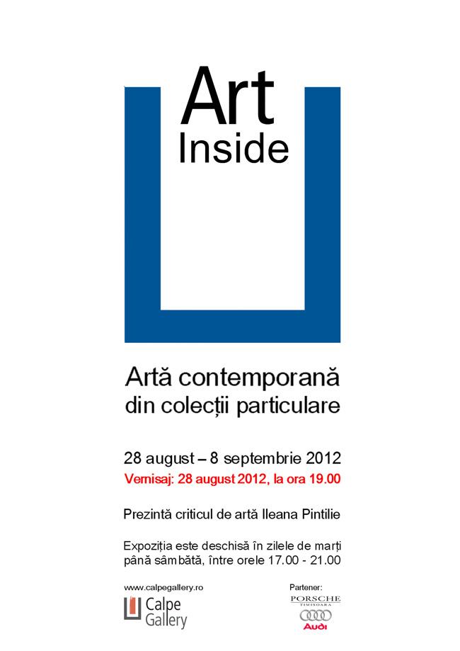Art Inside. Artă contemporană din colecţii particulare @ Calpe Gallery, Timișoara