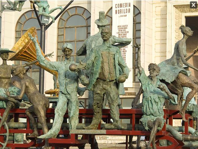 Primaria Capitalei a cheltuit 43,3 de milioane de lei pentru amplasarea a 24 de statui în ultimii 12 ani