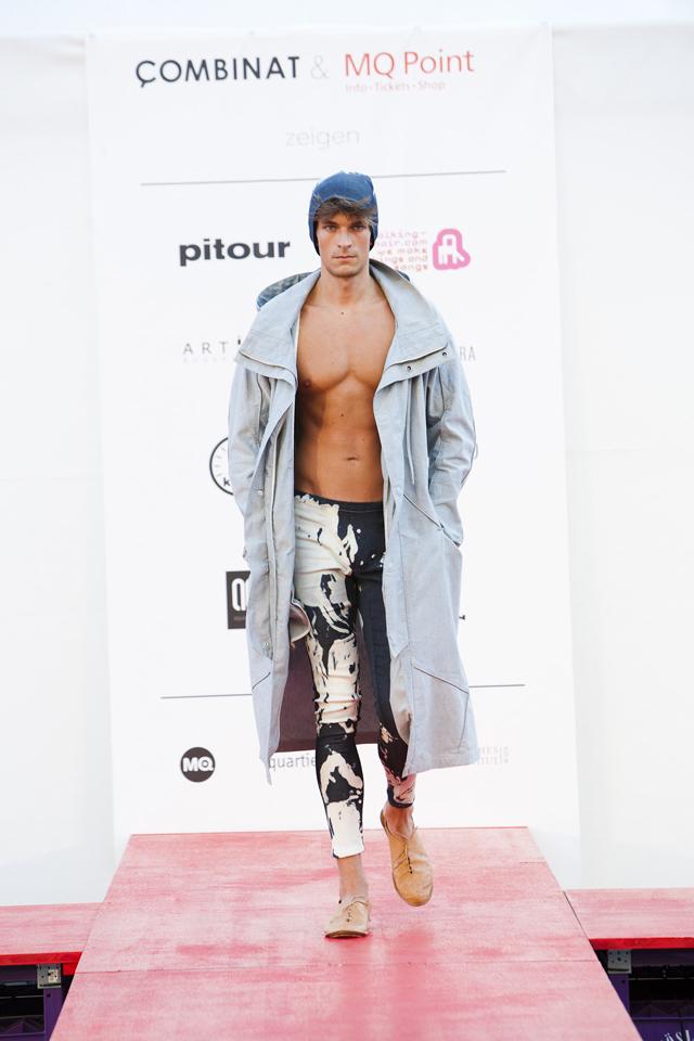 Colecţia PATZAIKIN Fashion toamnă – iarnă 2012 – 2013  defilează pe catwalk-ul Museumsquartier Viena   Festivalul Summer of Fashion @