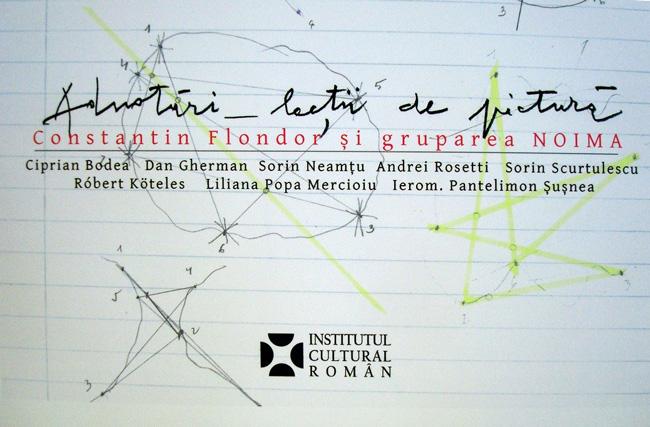 O nouă apariție editorială // Adnotări – lecții de pictură: album Constantin Flondor și gruparea NOIMA