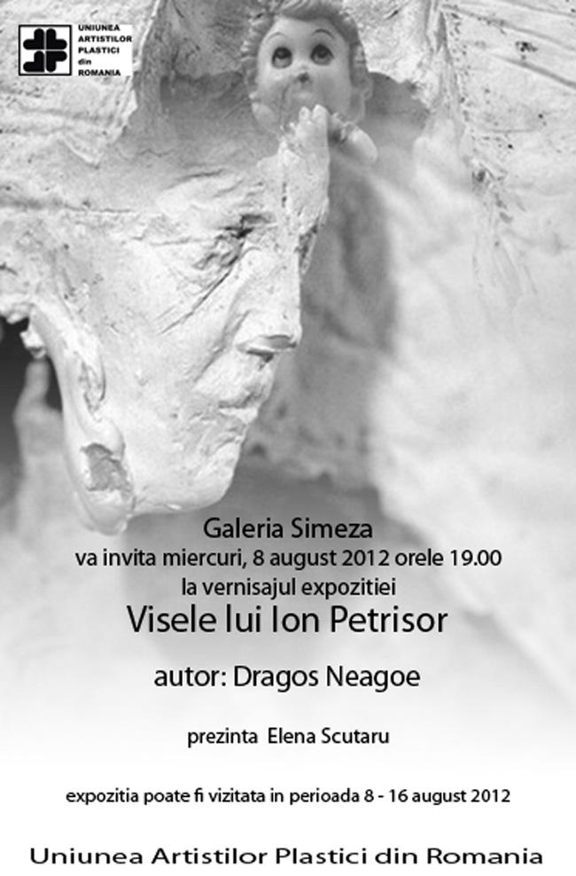 """Dragoș Neagoe """"Visele lui Ion Petrișor"""" @ Galeria Simeza, București"""