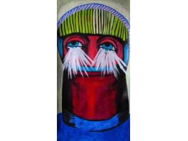 Prima expoziţie muzeală a lui Dumitru Gorzo în Statele Unite: HEADS la New Jersey Museum of Contemporary Art (NJMoCA)