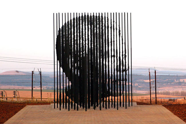 Mandela Captured Sculpture Tributes His Unbreakable Spirit