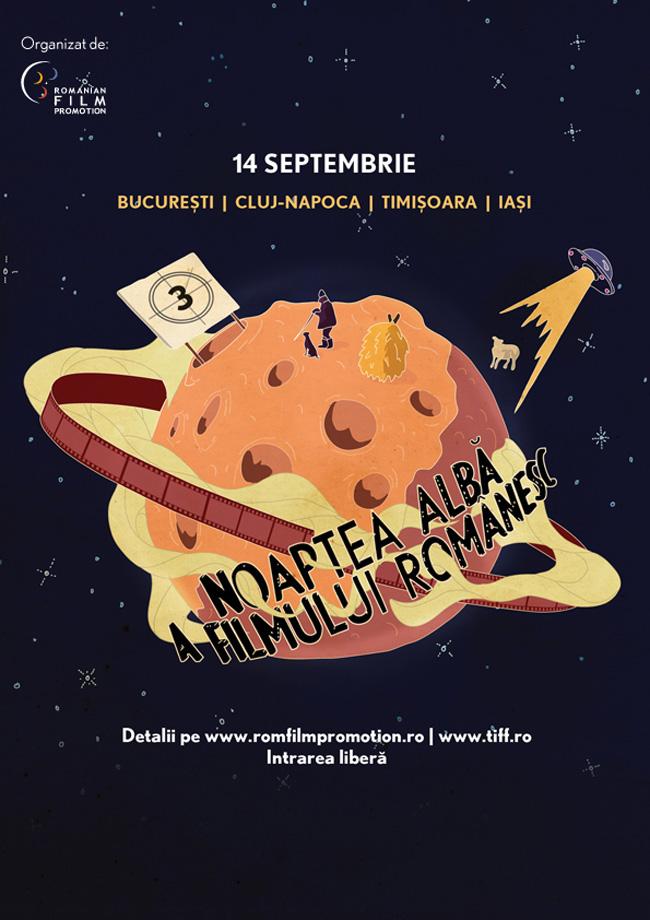 Noaptea Albă a Filmului Românesc- o nouă ediție