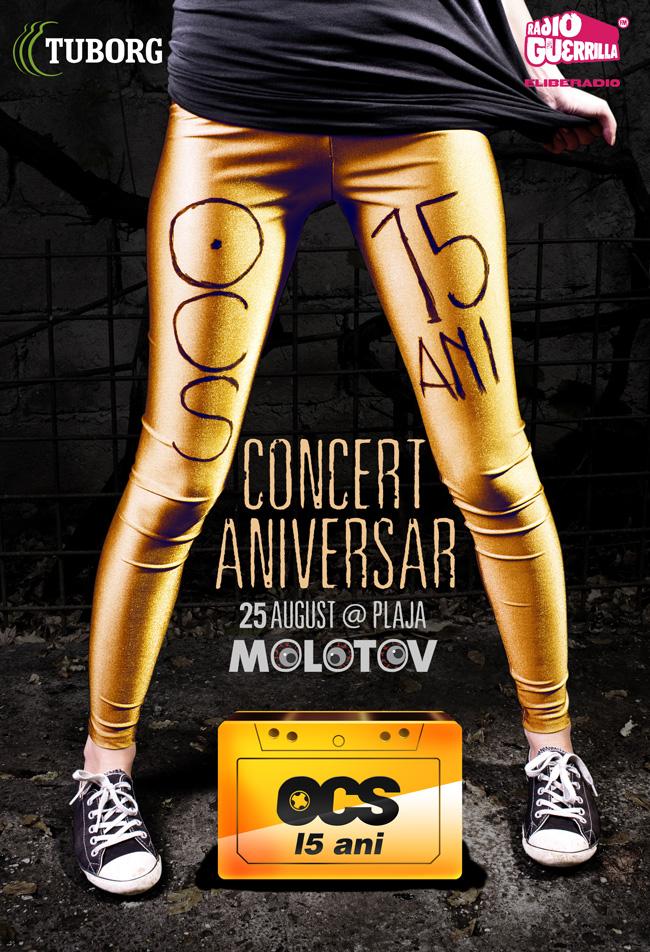 15 ani de OCS, sărbătoriți printr-un concert la Vama Veche, sâmbătă, 25 august