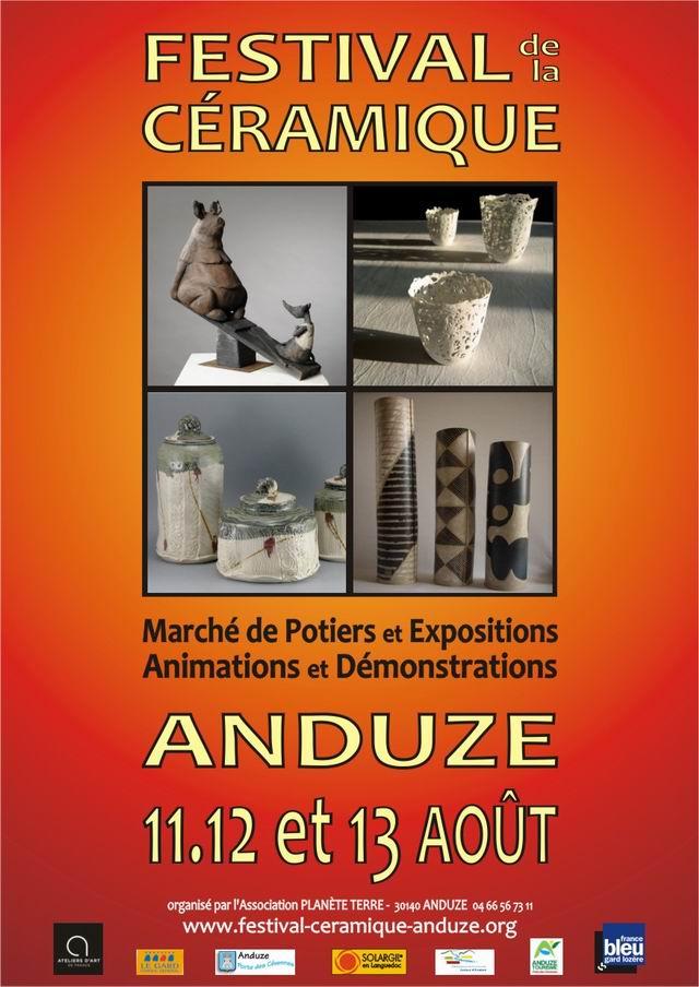 Festival of ceramic Anduze