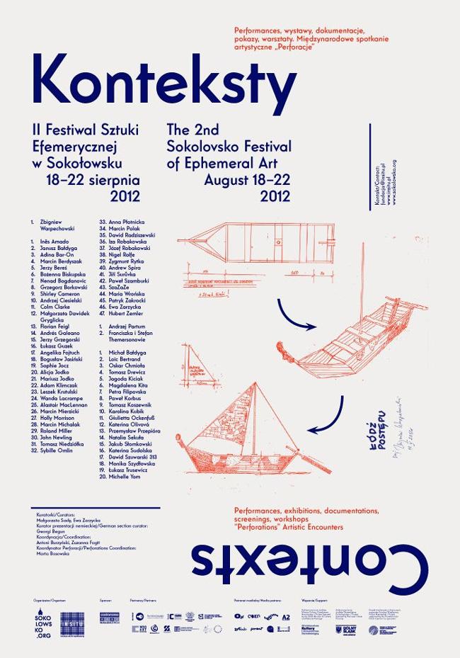 In Situ Modern Art Foundation presents Contexts 2012 – Sokolovsko Festival of Ephemeral Art