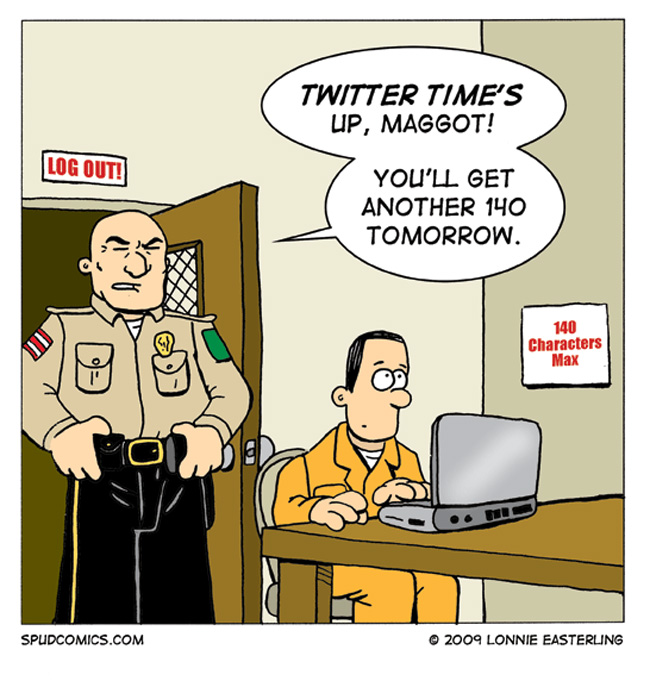 The Caged Bird Twitters