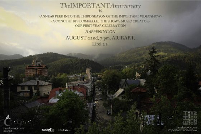 The IMPORTANT Anniversary & concert Plurabelle @ Aiurart, București