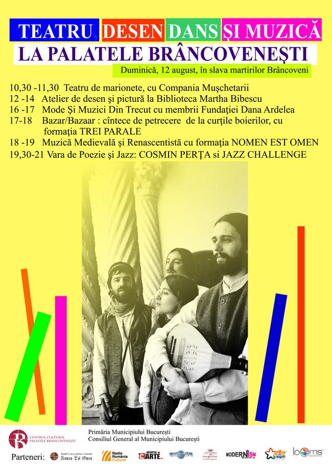 Teatru, muzica și poezie la Palatul Mogoșoaia