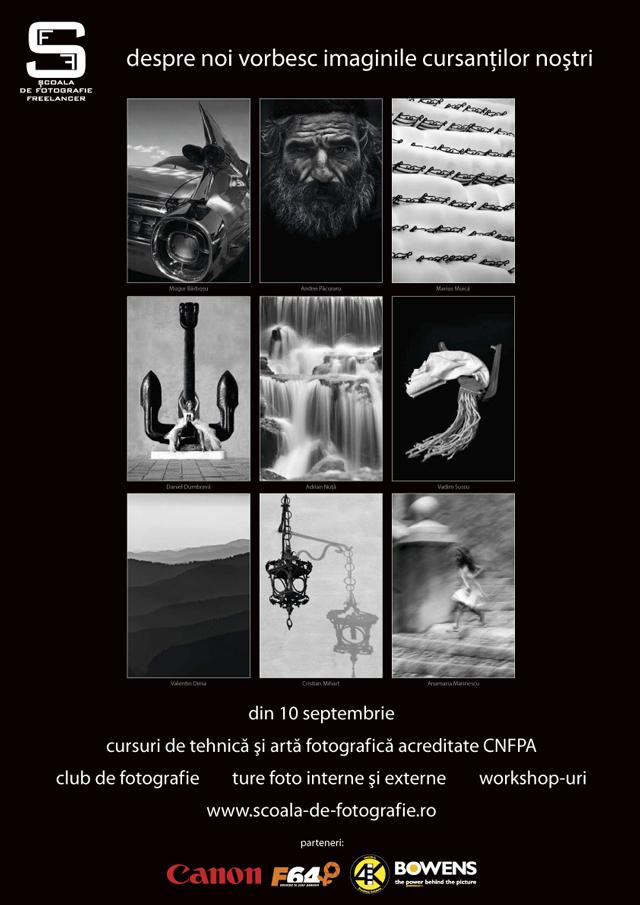 Cursuri de artă şi tehnică fotografică acreditate CNFPA @ Şcoala de Fotografie Freelancer