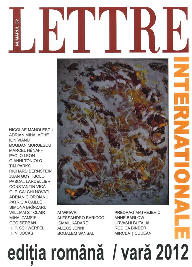 A apărut ediția de vară a revistei Lettre Internationale