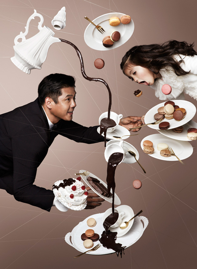 Gravity Defying Photography for Chocolate Trail by NAM