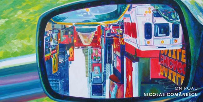 """Nicolae Comănescu """"ON ROAD"""" @ Galerie Petra Nostheide-Eycke, Düsseldorf"""