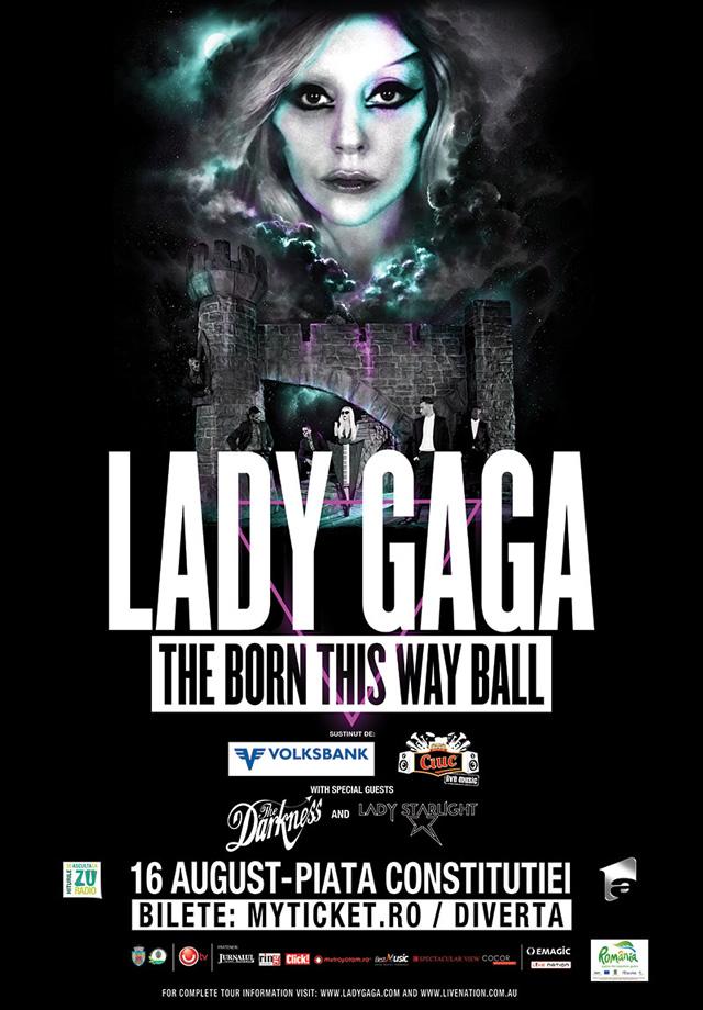 Fanii de toate varstele sunt asteptati in costume traznite la concertul Lady Gaga din Bucuresti, sustinut pe cea mai mare scena din lume