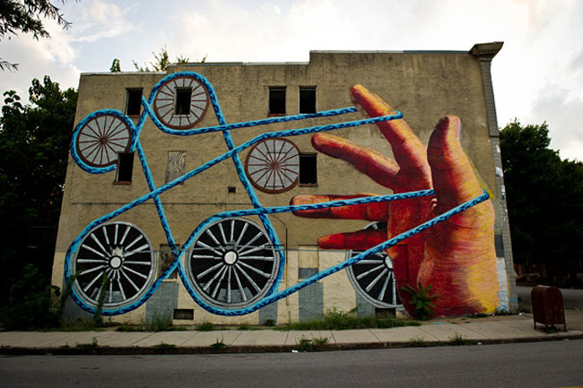 Wonderful Examples of Large Scale Street Art Murals, part 2