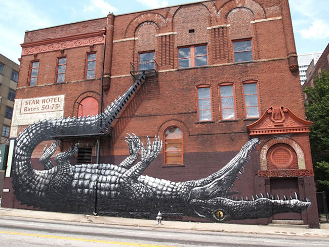 Wonderful Examples of Large Scale Street Art Murals, part 1