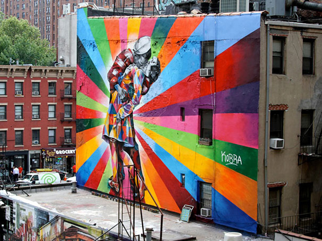 Wonderful Examples of Large Scale Street Art Murals, part 3