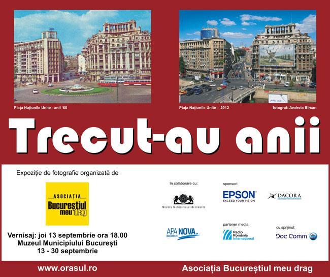 """""""Trecut-au anii…"""", ediția a V-a @ Muzeul """"Municipiului București"""""""