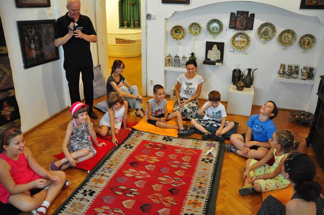 Caravana Muzeelor ajunge la muzeul-surpriză