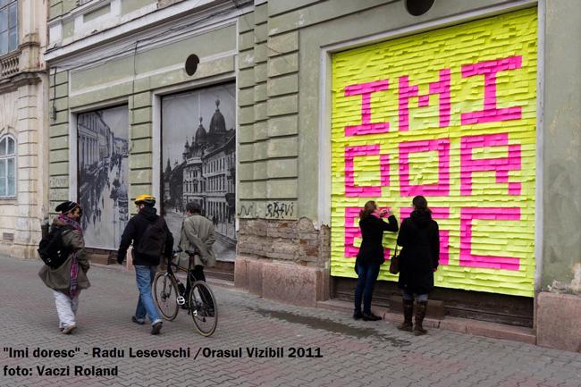 Oraşul Vizibil 2012 – concurs de lucrări artistice pentru spaţiul public