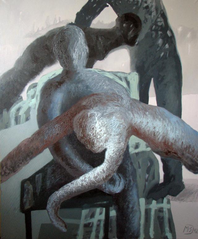 """Expoziția """"Ţărână""""/""""Dust"""", Maia Ştefana Oprea @  Melenia Art Gallery București"""
