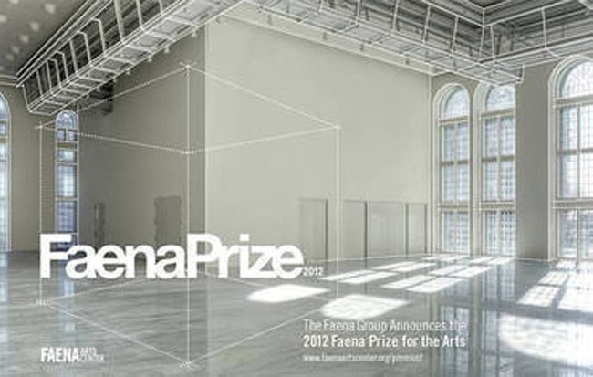 2012 Faena Prize for the Arts