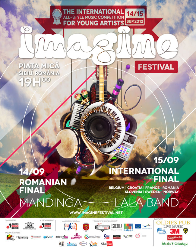 Mandinga și LaLa Band la Festivalul Imagine