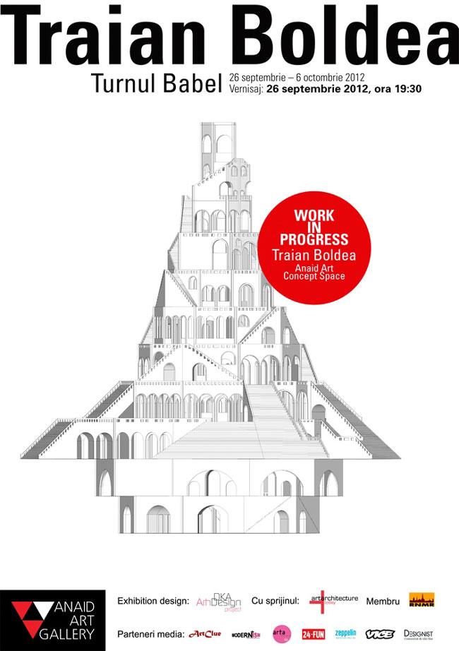 "Anaid Art Gallery prezintă ""Turnul Babel"" semnat Traian Boldea"