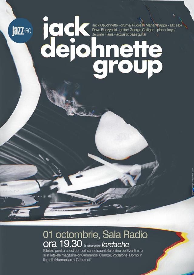 JACK DEJOHNETTE GROUP – Un nou eveniment marca JAZZ.RO