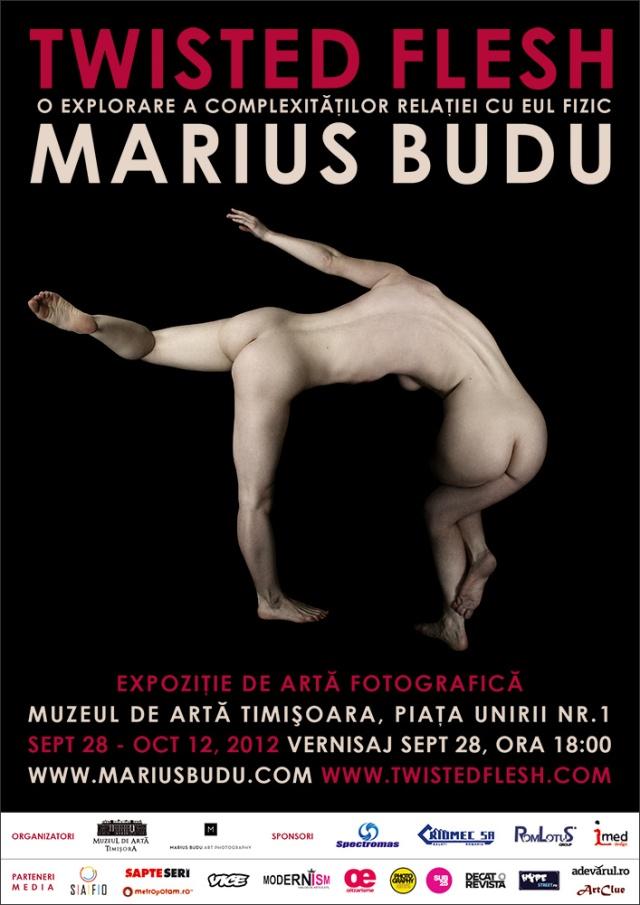 """""""Twisted Flesh"""" Marius Budu @ Muzeul de Artă Timişoara"""