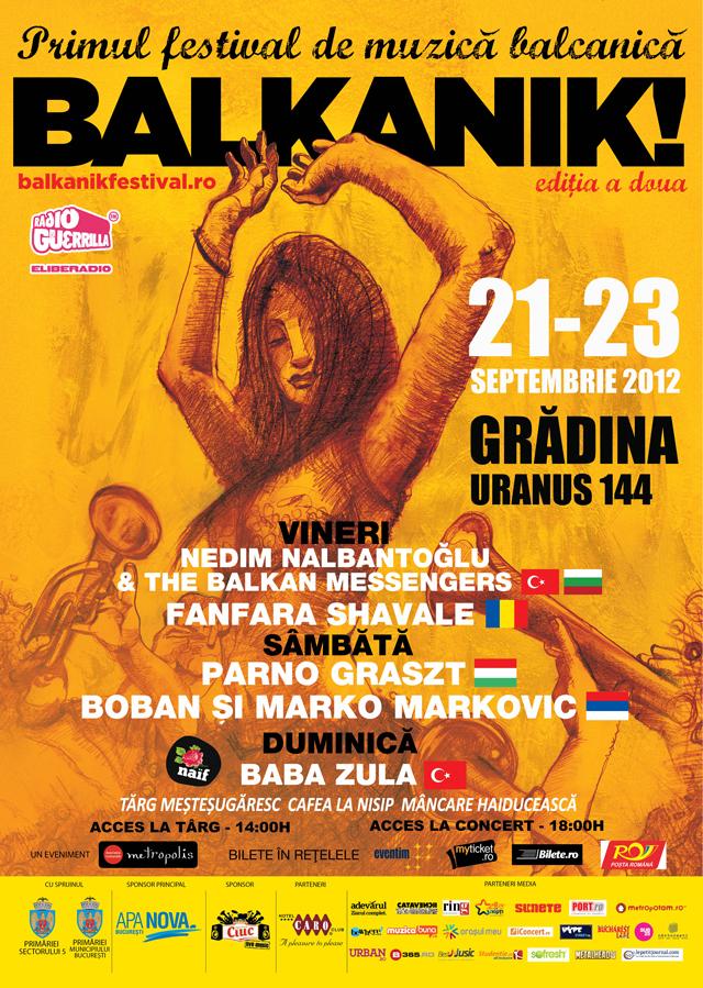 BALKANIK! FESTIVAL, ediția a doua – muzică, tradiții și spectacole incendiare