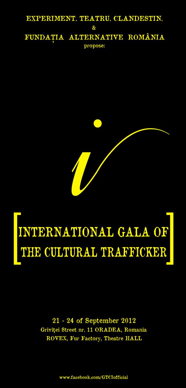Gala Traficantului de Cultură Internaţional 2012 @ Fundaţia Alternative România