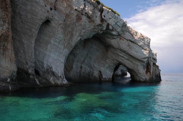 Blue caves – Zakynthos