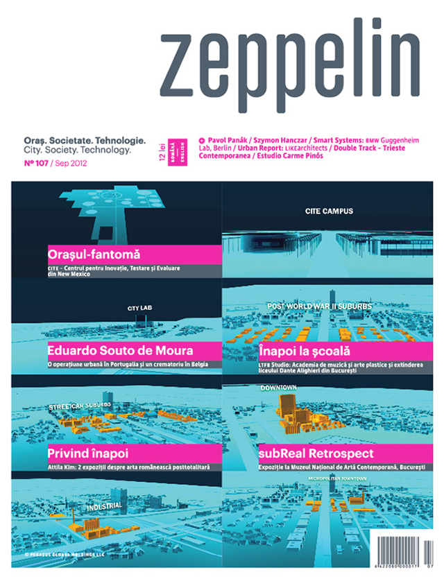 A aparut numarul de septembrie al revistei Zeppelin